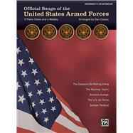 Official Songs of the United States Armed Forces: 5 Piano Solos and a Medley, Intermediate / Late Intermediate Piano by Coates, Dan (COP), 9781470626075