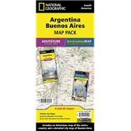 Argentina, Buenos Aires Map Pack: Argentina (Adventure Travel Map) Buenos Aires (Destination City Map & Guide) by National Geographic Maps - Adventure, 9781597756075