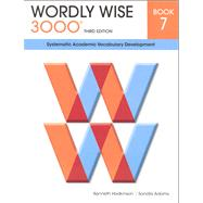 Wordly Wise 3000 Student Book 7 by Hodkinson & Adams, 9780838876077