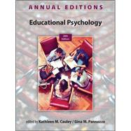 Annual Editions: Educational Psychology, 28/e by Cauley, Kathleen; Pannozzo, Gina, 9780078136078