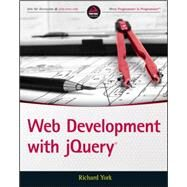 Web Development With Jquery by York, Richard, 9781118866078