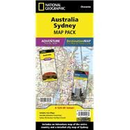 National Geographic Australia, Sydney Map Pack by National Geographic Maps, 9781597756082