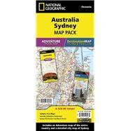National Geographic Australia, Sydney Map Pack by National Geographic Maps, 9781597756082