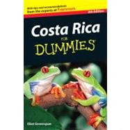 Costa Rica For Dummies by Greenspan, Eliot, 9781118086087