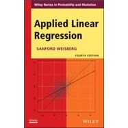 Applied Linear Regression by Weisberg, Sanford, 9781118386088