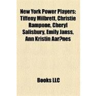 New York Power Players by , 9781158436088