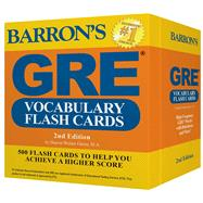 Barron's GRE Vocabulary Flash Cards by Weiner Green, Sharon, 9781438076089