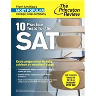 10 Practice Tests for the SAT by PRINCETON REVIEW, 9780804126090
