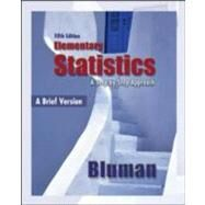 Elementary Statistics: A Brief Version : A Brief Version by Bluman, Allan, 9780073386096