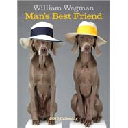 William Wegman Man's Best Friend 2016 Wall Calendar by Wegman, William, 9781419716096
