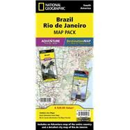 Brazil, Rio De Janeiro: Map Pack Bundle by National Geographic Maps - Adventure, 9781597756099