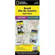 Brazil, Rio De Janeiro: Map Pack Bundle by National Geographic Maps - Adventure, 9781597756099