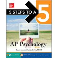 5 Steps to a 5 AP Psychology 2016 by Maitland, Laura, 9780071846103