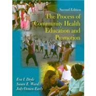 Process of Community Health Education and Promotion by Doyle, Eva I., 9781577666103