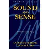 Sound and Sense: An Introduction to Poetry by PERRINE, 9780155826106