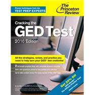 Cracking the GED Test with 2 Practice Exams, 2016 Edition by PRINCETON REVIEW, 9780804126106