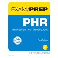 PHR Exam Prep Professional in Human Resources by Winterfield, Cathy, 9780789756121
