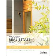 Modern Real Estate Practice by Galaty, Fillmore W.; Allaway, Wellington J.; Kyle, Robert C., 9781427746122