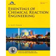 Essentials of Chemical Reaction Engineering by Fogler, H. Scott, 9780137146123
