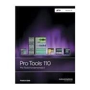 PT 110 Pro Tools Production II, version 12 by Frank D. Cook, 9781943446124