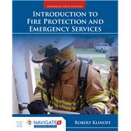Introduction to Fire Protection and Emergency Services by Klinoff, Robert, 9781284136128