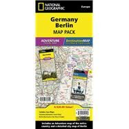 Germany, Berlin: Map Pack Bundle by National Geographic Maps - Adventure, 9781597756129