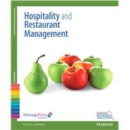 ManageFirst Hospitality and Restaurant Management with Answer Sheet by National Restaurant Association, 9780132116138