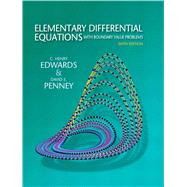 Elementary Differential Equations With Boundary Value Problems by Edwards, C. Henry; Penney, David E., 9780136006138