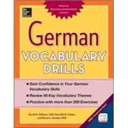 German Vocabulary Drills by Stillman, David; Godor, Daniele; Gordon, Ronni, 9780071826143