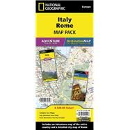 Italy, Rome: Map Pack Bundle by National Geographic Maps - Adventure, 9781597756143