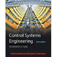 Control Systems Engineering 6E B&W by Nise, 9781119936145