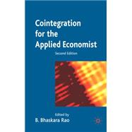 Cointegration for the Applied Economist, Second Edition by Rao, B. Bhaskara, 9781403996145
