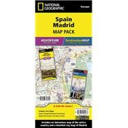 Spain, Madrid: Map Pack by National Geographic Maps - Adventure, 9781597756150