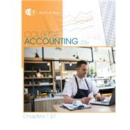 College Accounting, Chapters 1-27 by Heintz, James A.; Parry, Robert W., 9781305666160