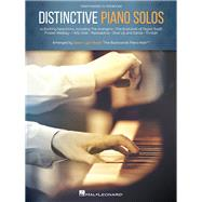 Distinctive Piano Solos by Hal Leonard Corp.; Black, Jason Lyle (CRT), 9781495036163