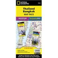 Thailand, Bangkok Map Pack: Adventure Travel Map / Destination Map-city Map & Travel Guide by National Geographic Maps, 9781597756167
