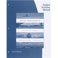 Student Activities Manual for Dollenmayer/Hansen's Neue Horizonte, 8th by Dollenmayer, David; Hansen, Thomas, 9781133946175