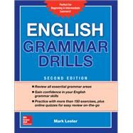 English Grammar Drills, Second Edition by Lester, Mark, 9781260116175