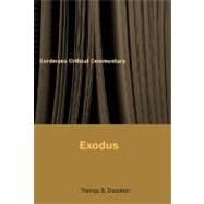 Commentary on Exodus by Dozeman, Thomas B., 9780802826176