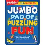 Jumbo Pad of Puzzling Fun by Highlights (CRT), 9781629796178