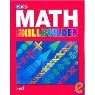 SRA Math Skillbuilder - Student Edition Level 3 - Red by Unknown, 9780076186181