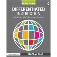 Differentiated Instruction by Blaz, Deborah, 9781138906181