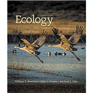 Ecology by Bowman, William D.; Hacker, Sally D.; Cain, Michael L., 9781605356181