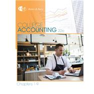 College Accounting, Chapters 1-9 by Heintz, James A.; Parry, Robert W., 9781305666184