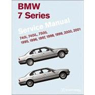 BMW 7 Series (E38) Service Manual: 1995, 1996, 1997, 1998, 1999, 2000, 2001: 740i, 740il, 750il by Bentley Publishers, 9780837616186