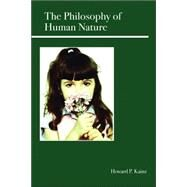 The Philosophy of Human Nature by Kainz, Howard P., 9780812696196