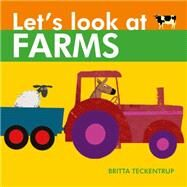 Let's Look at Farms by Teckentrup, Britta, 9781910126196