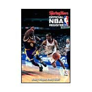 Official NBA Register : Every Player, Every Stat!, 1999-2000 Edition by Sporting News, 9780892046201