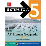 5 Steps to a 5 AP Human Geography 2016 by Gillespie, Carol Ann, 9780071846202