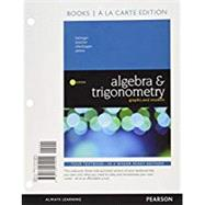 Algebra and Trigonometry Graphs and Models, Books a la Carte Edition Plus MyMathLab -- Access Card Package by Bittinger, Marvin L.; Beecher, Judith A.; Ellenbogen, David J.; Penna, Judith A., 9780134506203